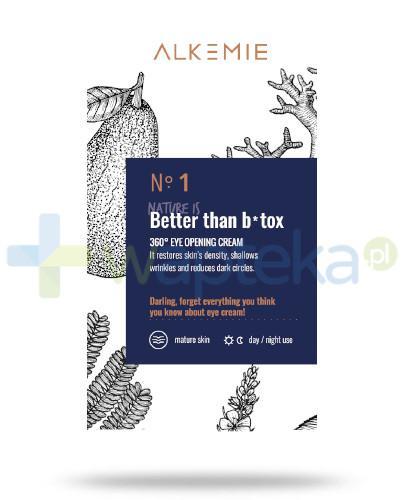 Alkemie No.1 Anti-Age Nature is better than botox, 360° krem na okolice oczu 15 ml