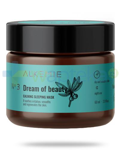 Alkemie No.3 Microbiome, Dream of beauty wyciszająca nocna maska-krem 60 ml