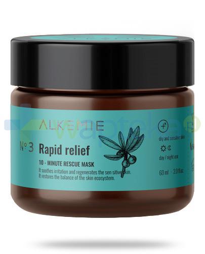 Alkemie No.3 Microbiome, Rapid relief 10-minutowa maska ratunkowa 60 ml