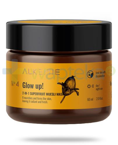 Alkemie No.4 Nature's Treasure, Glow up! 2w1 peeling-maska z superowocami 60 ml
