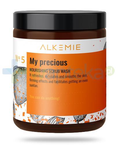 Alkemie No.5 Sun for everyone, My precious odżywczy peeling myjący do ciała 200 g
