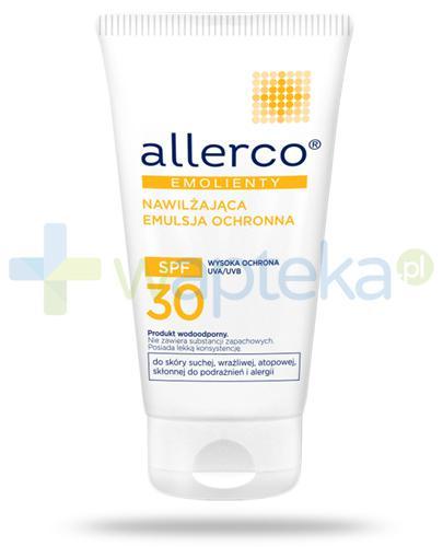 Allerco Emolienty nawilżająca emulsja ochronna SPF30 150 ml