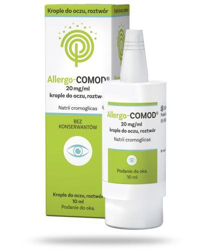Allergo-Comod krople do oczu 10 ml - Data ważności 31-01-2017 WYPRZEDAŻ