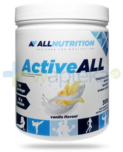 Allnutrition ActiveAll Vanilla koktajl białkowy smak waniliowy 300 g