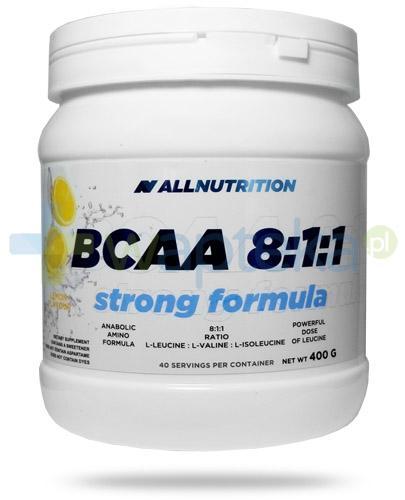 Allnutrition BCAA 8:1:1 Strong Formula Lemon smak cytrynowy 400 g