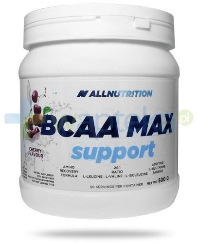 Allnutrition BCAA Max Support Cherry smak czereśniowy 500 g
