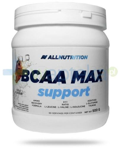 Allnutrition BCAA Max Support Cola smak coli 500 g