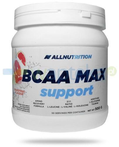 Allnutrition BCAA Max Support Grapefruit smak grejpfrutowy 500 g