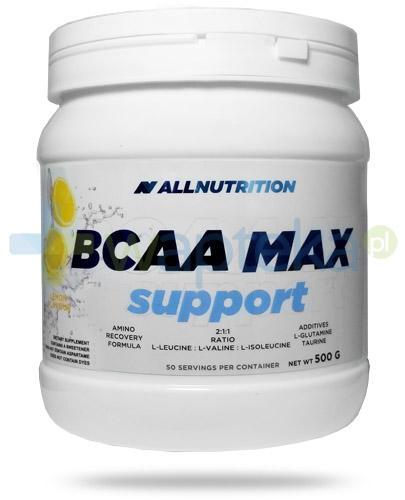 Allnutrition BCAA Max Support Lemon smak cytrynowy 500 g