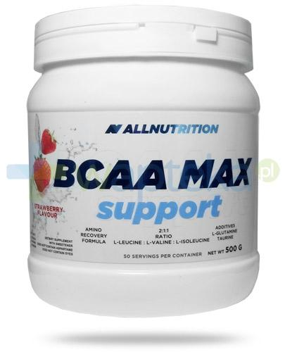 Allnutrition BCAA Max Support Strawberry smak truskawkowy 500 g