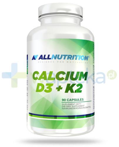 Allnutrition Calcium D3+K2 90 kapsułek