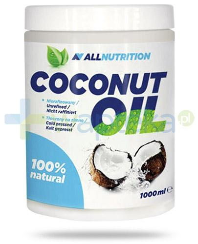 Allnutrition Coconut Oil olej kokosowy nierafinowany 1000 ml