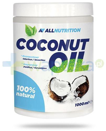 Allnutrition Coconut Oil olej kokosowy rafinowany 1000 ml