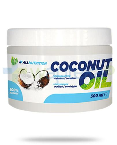 Allnutrition Coconut Oil olej kokosowy rafinowany 500 ml