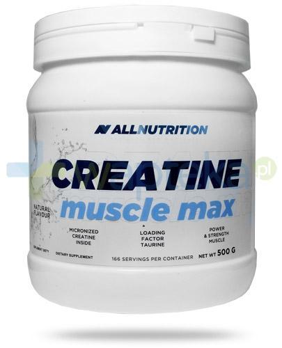 Allnutrition Creatine Muscle Max kreatyna smak naturalny 500 g [kreatyna , monohydrat]