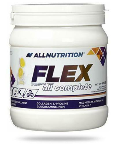Allnutrition Flex All Complete Lemon białko kolagenowe smak cytrynowy 400 g [kolagen]