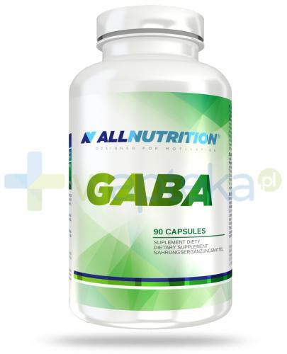 Allnutrition Gaba kwas gamma-aminomasłowy 90 kapsułek