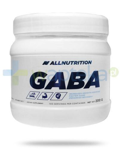 Allnutrition Gaba kwas gamma-aminomasłowy 200 g