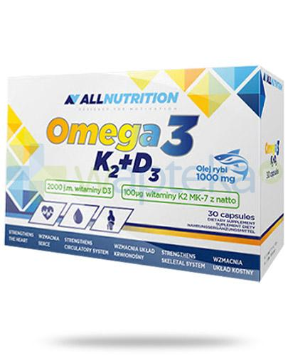 Allnutrition Omega-3 K2 + D3 30 kapsułek [witamina D3 K2]