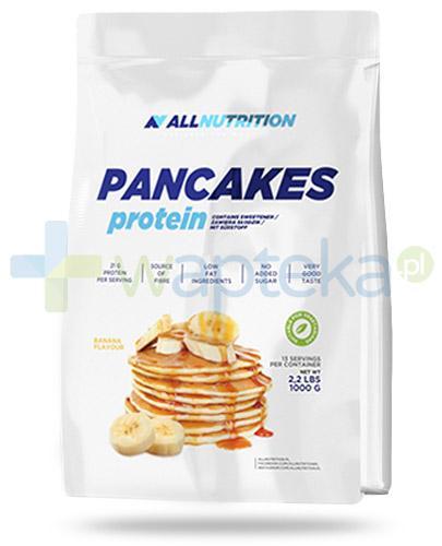 Allnutrition Pancakes Protein Banana naleśniki proteinowe o smaku bananowym 1000 g [Data ważności 31-03-2018] + StimALL 20 kaps. [GRATIS]