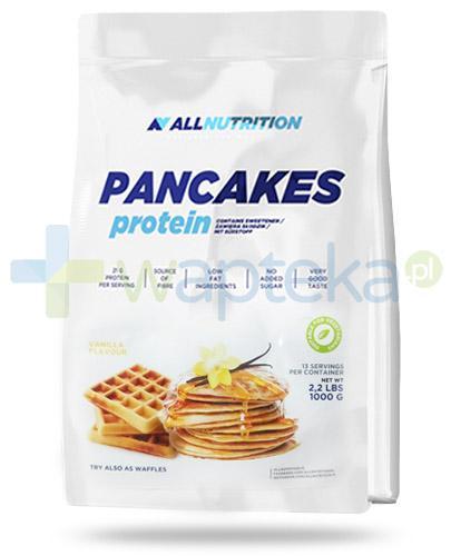 Allnutrition Pancakes Protein Vanilla naleśniki proteinowe o smaku waniliowym 1000 g - Data ważności 31-12-2017 + Vit. D3 4000 forte 30 kaps. [GRATIS]