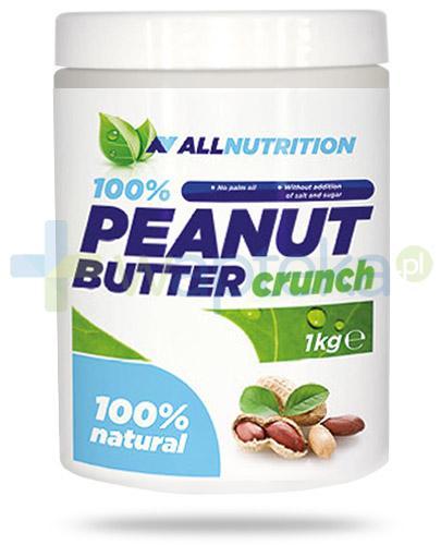 Allnutrition Peanut Butter Crunch masło orzechowe 1000 g
