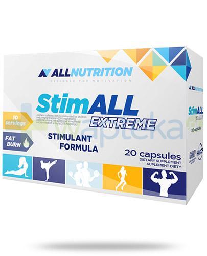 Allnutrition StimALL Extreme 20 kapsułek [spalacz tłuszczu]