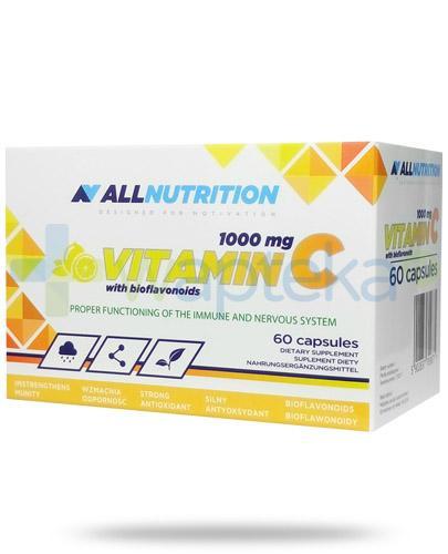Allnutrition witamina C 1000mg z bioflawonoidami 60 kapsułek