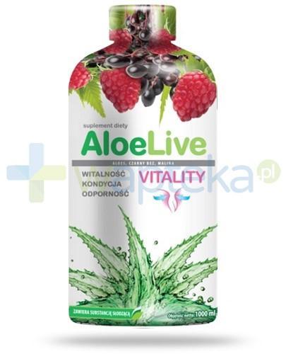 AloeLive Vitality witalność kondycja odporność sok 1000 ml