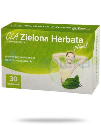 CLA Zielona Herbata Optimal 30 kapsułek AlpePharma