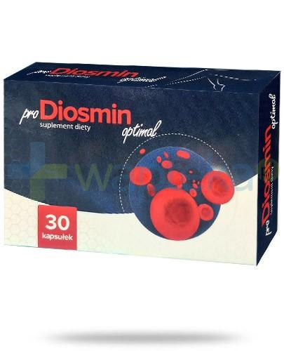 ProDiosmin Optimal 30 kapsułek AlpePharma - karta zdublowana