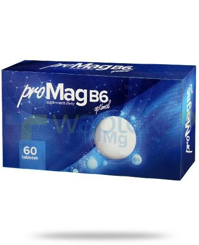 ProMag B6 Optimal 60 tabletek AlpePharma