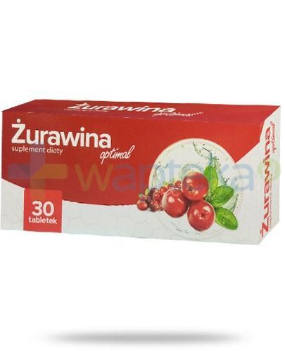 Żurawina Optimal 30 tabletek AlpePharma