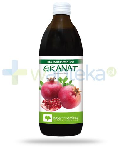 Alter Medica Granat sok z granatu pasteryzowany 500 ml