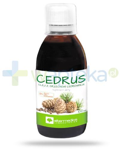 AlterMedica Cedrus olej z orzechów cedrowych 100 ml [Data ważności 30-06-2018]