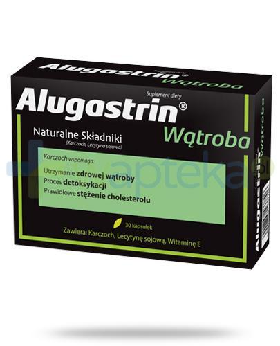 Alugastrin Wątroba 30 kapsułek