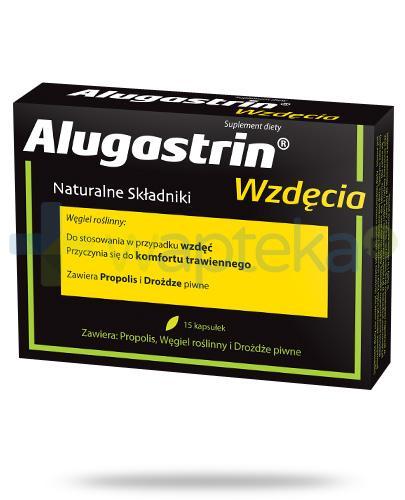 Alugastrin Wzdęcia 15 kapsułek