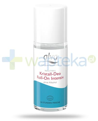 Alva Crystal Deo Intensive dezodorant w krysztale roll-on 50 ml