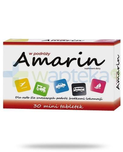 Amarin na mdłości w podróży 30 tabletek