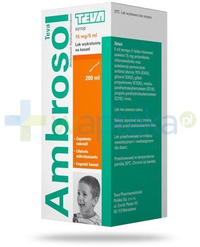 Ambrosol 15mg/5ml syrop na kaszel 200 ml