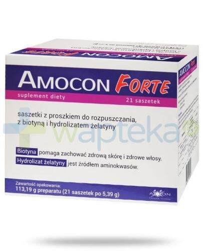 Amocon Forte 21 saszetek
