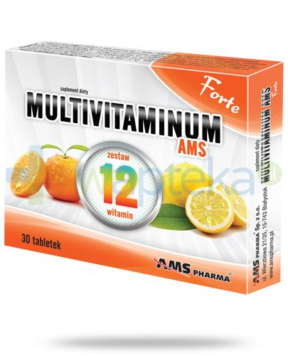 AMS Multivitaminum Forte 30 tabletek