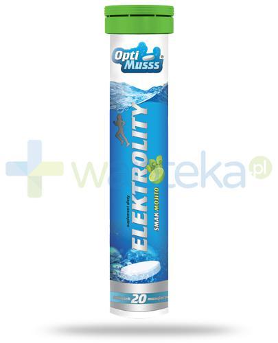 AMS OptiMusss Elektrolity smak mojito 20 tabetek