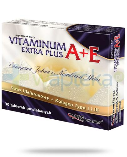 AMS Vitaminum A+E Extra Plus 30 tabletek