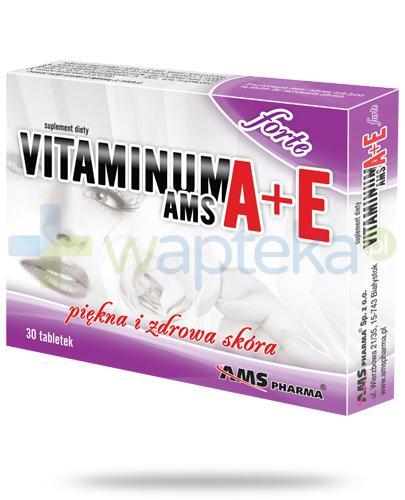 AMS Vitaminum A+E Forte 30 tabletek
