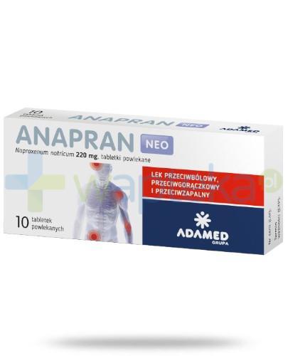 Anapran Neo 220mg 10 tabletek