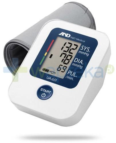 Diagnosis AND UA-651 ciśnieniomierz automatyczny naramienny 1 sztuka