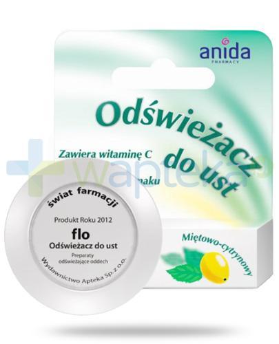 Anida Flo odświeżacz do ust miętowo-cytrynowy 5 ml