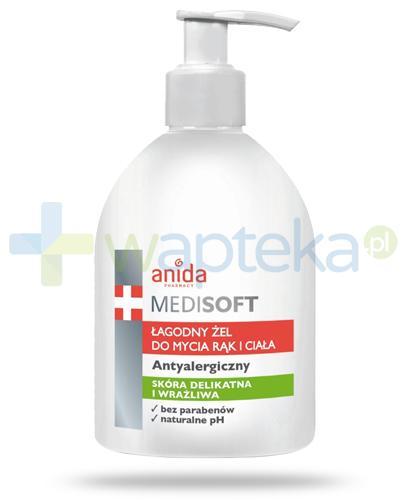 Anida Medi Soft łagodny żel do mycia rąk i ciała 300 ml
