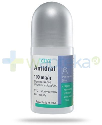 Antidral 100mg/g płyn na skórę 50 ml